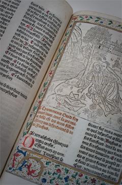Handschrift uit de collectie van de Openbare Bibliotheek Brugge