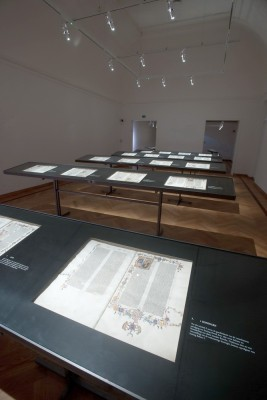 Tentoonstellingsruimte Bijbel van Anjou