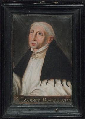 Olieverfportret van Ruusbroec