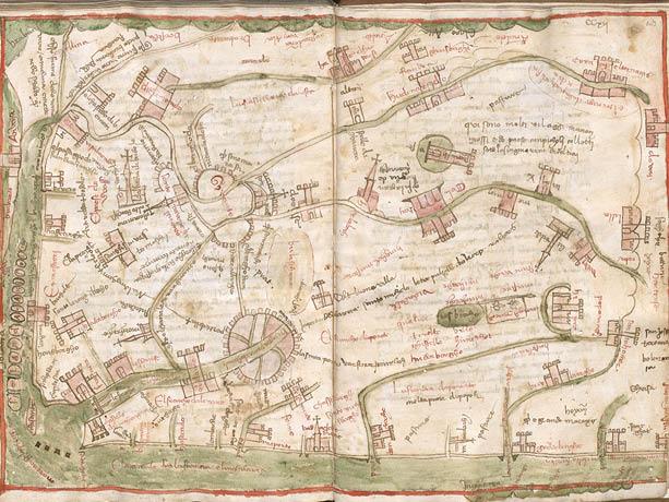 De oudste kaart van Vlaanderen