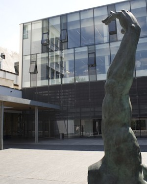 Gevel van de Universiteitsbibliotheek Antwerpen