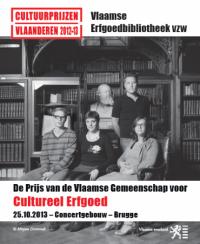 Brochure Prijs Cultureel-Erfgoed 2013
