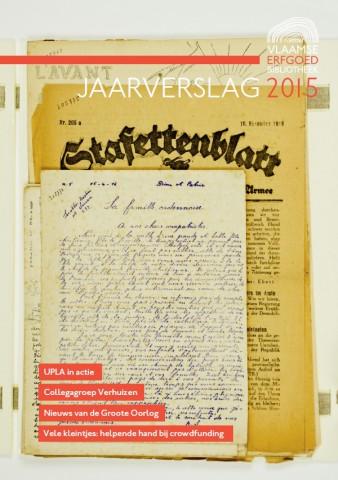 Voorpagina Jaarverslag 2013