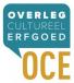 Logo van het Overleg Cultureel Erfgoed