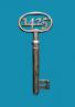 Sleutel KU Leuven met jaartal 1425