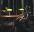 La bibliothèque, la nuit - BnF