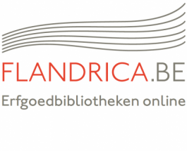 Logo Flandrica.be | Erfgoedbibliotheken online