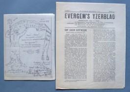 Voorpagina's Evergem's Yzerblad (1917)