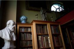 Interieur bibliotheek Stichting de Bethune