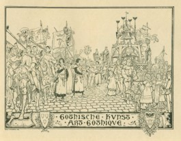 De kunst door de eeuwen heen, Antwerpen, 1899