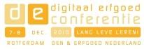 Logo Digitaal Erfgoed Conferentie