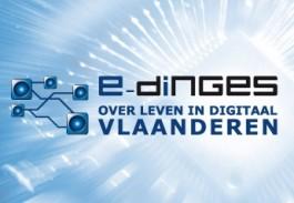 Logo E-dinges: over leven in Digitaal Vlaanderen