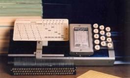 Academisch Erfgoed: Ponskaartenmachine