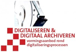 Digitaliseren en digitaal archiveren. Vormingsaanbod rond digitalisering