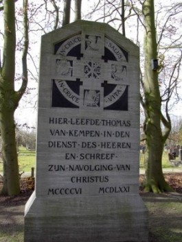 Monument voor Thomas a Kempis in Zwolle