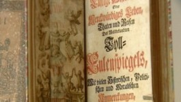 """Titelblad """"Ein kurtzweilig Lesen von Dyl Ulenspiegel"""""""