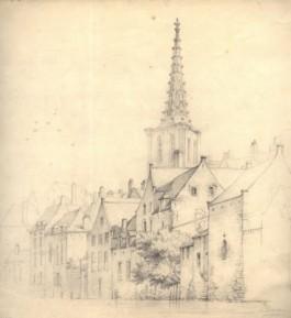 Stadszicht van Leuven