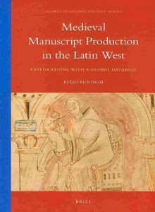Omslag 'Medieval Manuscript Production in the Latin West'