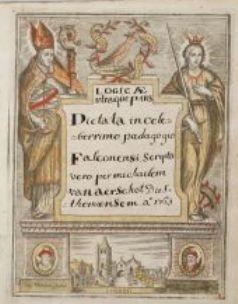 Dictaat Logica, Leuven, 1761-1762; student: Michael  van Aerschot