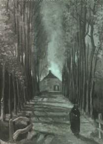 Vincent Van Gogh | Populierenlaan in de herfst