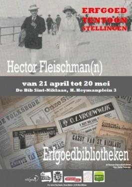 Affiche dubbeltentoonstelling Bibliotheca Wasiana