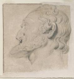 P.P. Rubens, Hoofd van Hendrik IV, 1622