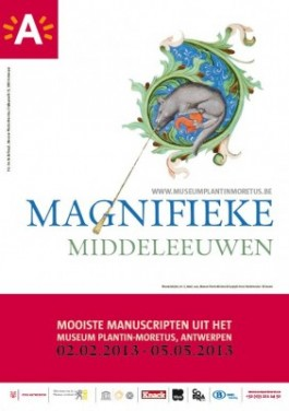 Affiche tentoonstelling 'Magnifieke Middeleeuwen'