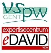 Logo's VSPW Gent en Expertisecentrum DAVID