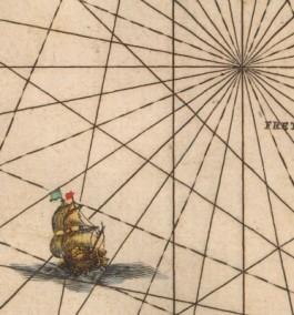 Johannes van Loon, Klaer-lichtende noort-star. Amsterdam 1666 (detail)