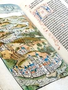 Afbeelding uit een middeleeuws boek