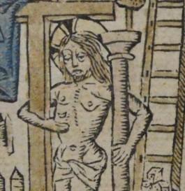 afbeelding van Jezus uit Meditacien vanden soeten leuen