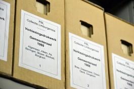 archiefdozen verkiezingsdrukwerk