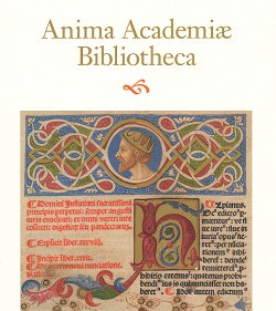 Voorpagina tentoonstellingscatalogus Anima Academiae Bibliotheca