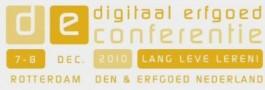 Logo Digitaal Erfgoed Conferentie 2010