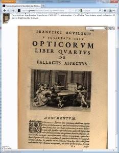 Franciscus Aguilon, Opticorum libri sex, folio R2 recto