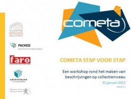 Voorpagina presentatie Cometa