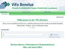 ViFa Benelux homepage