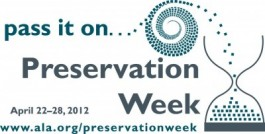 Logo Preservation Week