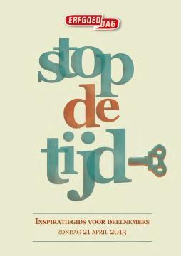 Erfgoeddag 2013 | Stop de tijd!