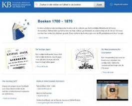 Homepagina van 'boeken.kb.nl'