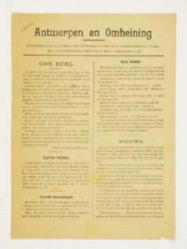 Antwerpen en Omheining