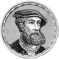 Portret van man met baard van rond 1600