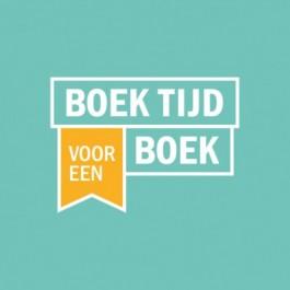 Logo van de campagne Boek tijd voor een boek