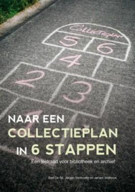 Cover van de brochure 'Naar een collectieplan in 6 stappen'