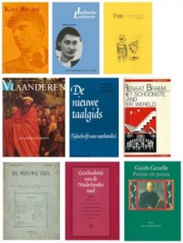 Covers van boeken uit DBNL