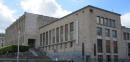 Facade Koninklijke Bibliotheek van België