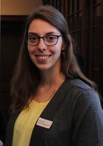 Sarah op het Overlegplatform voor erfgoedbibliotheken