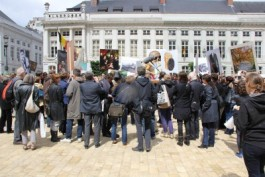 Foto van manifestatie