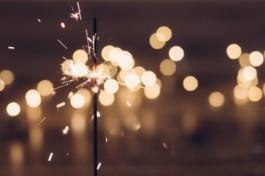 Foto van vuurwerk