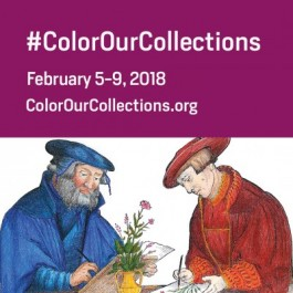 Campagnebeeld van #ColorOurCollections